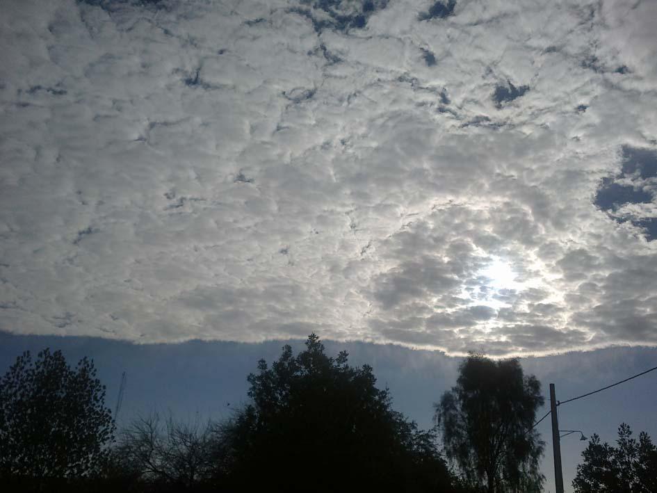 """"""" مرز ابر"""" در جویُم"""
